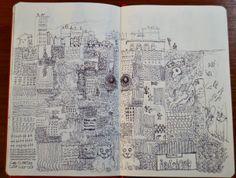 """underground""  - Michele Petrelli #art #illustration #drawing"