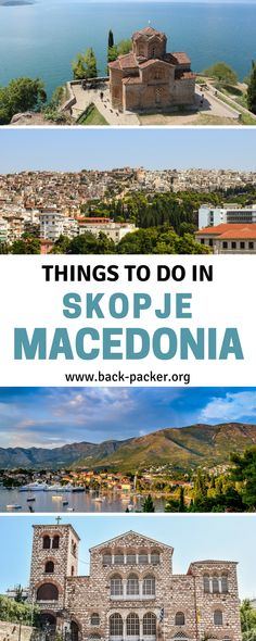 The complete guide to travel in Skopje, Macedonia. Best things to do in the city including bazaars, museums, memorials and walking tours (the city have some incredible architecture) + top restaurants and food and where to stay. Travel in Eastern Europe. | Back-packer.org #Macedonia