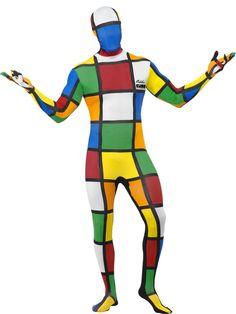 Rubik\'s Cube Second Skin Costume