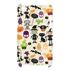 iPod 4 Cartoon Cute Halloween iPod Touch 4 4G 4th Hardshell Case Cover