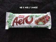 48 X Nestle Mint Aero Bars Guaranteed Fresh Made in Canada Sweet Treats, Bubbles, Mint, Canada, Fresh, Bar, How To Make, Food, Sweets