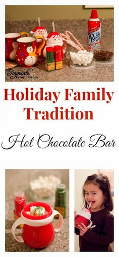 Holiday Traditions Series- Hot Chocolate Bar | Imprints From Tricia