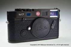 Leica M7 0.72 35mm Rangefinder Film Camera Body Excellent+ #Leica