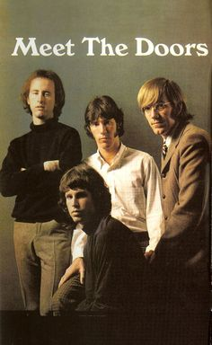 The Doors 1968  http://www.amazon.com/Got-Any-Kahlua-Collected-Recipes/dp/1478252650