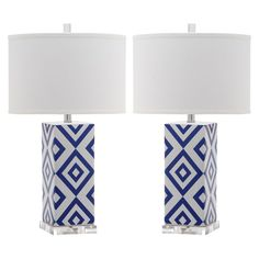 Safavieh Parker Table Lamp (Set Of 2) -