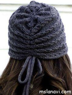 Sombreros de punto de las mujeres
