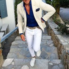 """8a0cc9490dad6  menwithclass on Instagram  """"Tag someone you think would look good in this  summer outfit 😎☀  menwithclass"""""""