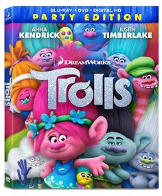 Start the Party with DreamWorks Trolls on DVD #trolls #trollsmovie #beautybrite