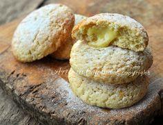 Biscotti al limone con crema, facili, veloci, profumati, con pasta frolla al limone, biscotti ripieni con crema al limone.