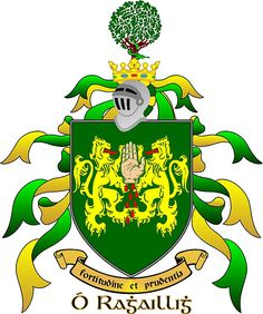 The Reilly Coat Of Arms, Yip i'm a Reilly, i believe we came over in the Potatoe Famine