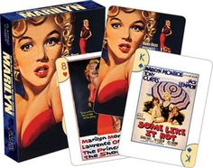 Marilyn Monroe - One Sheets Playing Cards