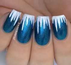 Icicle nails!