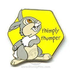 WDW lanyard pin: Thumper