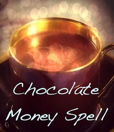 Chocolate Spell for Attracting Wealth