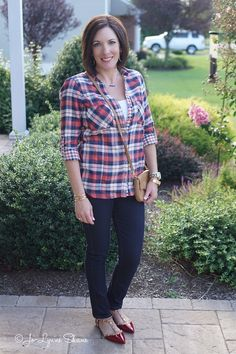 26 Days of Fall Fashion: Day 3 {PLAID}
