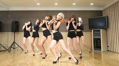 AOA - Like a Cat - mirrored dance practice video - Ace of Angels - 에이오에이...