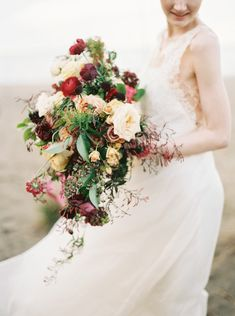 Organic Outdoor Bridal Session Ideas