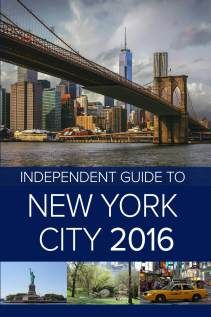 Book Review: Independent Guide to New York City 2016 | Independent Guidebooks