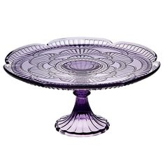 "Purple Cake Stand $26.99 <a href=""http://www.cakestandsgallery.com"" rel=""nofollow"" target=""_blank"">www.cakestandsgal...</a> - Cake Stands Purple"
