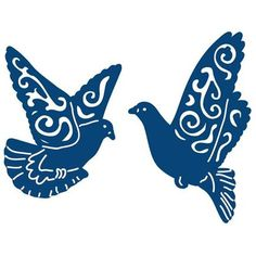 Tattered Lace Die Doves
