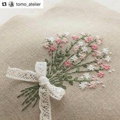 @tomo_atelier #bordado #ricamo #embroidery #broderie #handembroidery #needlework