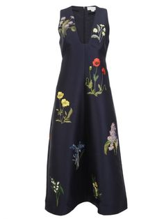 STELLA MCCARTNEY Stella Mccartney Plunging Dress. #stellamccartney #cloth #dresses