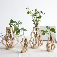 The most beautiful home decoration, make your life full of art. Benefits: Add creative natural style to your space with a gorgeous wooden vase! Made from wood & glass. Measure approximately x x In-Stock and Free Worldwide Shipping Wooden Vase, Wooden Decor, Wooden Shelves, Home Decor Accessories, Decorative Accessories, Accessories Online, Office Accessories, Decorative Accents, Bridal Accessories