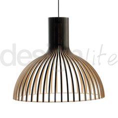 Victo+4250+Taklampe+Sort+-+Secto+Design