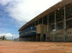 Estadio Nuevo Vivero en Badajoz, Extremadura