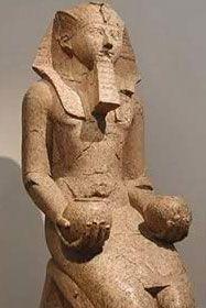 Hatshepsut in Deir el-Bahri, Egypt