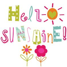 I love the sunshine because it makes everyone happy and I love to praise God by enjoying the wonderful things he made!!