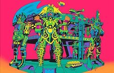 Jack Kirby's 'Lord of Light' artwork gets trippy psychedelic update | Dangerous Minds