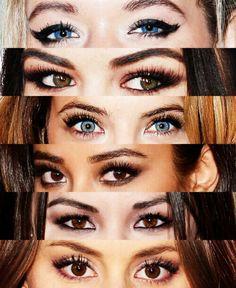 pretty little liars cast: alison, aria, hanna, emily, mona, spencer