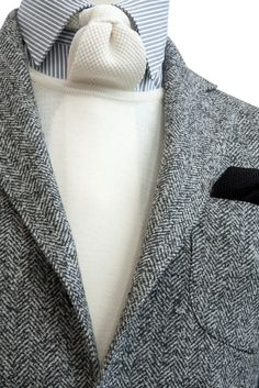 Tweed Wool Silk and Cashmere #Jacket - #MONTEZEMOLO