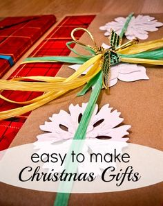 Easy to Make Christmas Gifts – MomPrepares