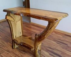 Rustic Log Furniture, Live Edge Furniture, Handmade Furniture, Wood Furniture, Western Furniture, Furniture Design, Rustic Coffee Tables, Rustic Table, Log Table