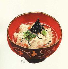 日本人ならお茶漬けだ。                                                                                                                                                                                 もっと見る