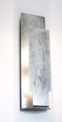 Buy Alta Sconce by Susan Fanfa Design - Made-to-Order designer Lighting from Dering Hall's collection of Contemporary Industrial Transitional Wall Lighting. Sconce Lighting, Lighting Design, Transitional Wall Lighting, Candle Sconces, Wall Sconces, High End Lighting, Contemporary Furniture, Floor Lamp, Design Elements