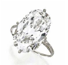 JAR diamond ring, oval diamond engagement rings