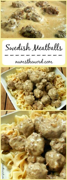 Swedish Meatballs - If you love IKEA's meatballs, then watch out! These are better in my opinion and oh so tasty! If you don't have time for homemade meatballs, use frozen {not as good, but still good}!
