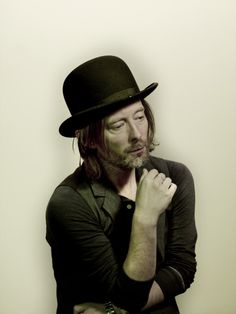Thom Yorke, Photo by Nadav Kander.