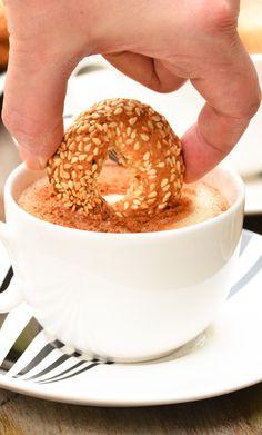 Lebanese Sweet Kaak | Hadias Lebanese Cuisine Dessert Recipes, Desserts, Cookie Recipes, Breakfast Recipes, Lebanese Cuisine, Good Food, Yummy Food, Middle Eastern Recipes, Lebanese Kaak Recipe