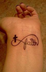 tattoos on Pinterest | Small Tattoos, Cross Tattoos and Bird Tattoos