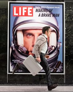 (The Secret Life of Walter Mitty, Secret Life, The Secret, Life Of Walter Mitty, Ben Stiller, Top Movies, Cultura Pop, Best Actor, Life Images, Cinematography