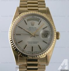 for sale, Rolex Oyster Perpetual Day-Date, Reference: Yellow Gold on an Yel. Americanlisted has classifieds in Boston, Massachusetts for watches and jewerly Day Date President, High End Watches, Rolex Day Date, Rolex Oyster Perpetual, Oysters, Gold Watch, Presidents, Accessories, Jewelry