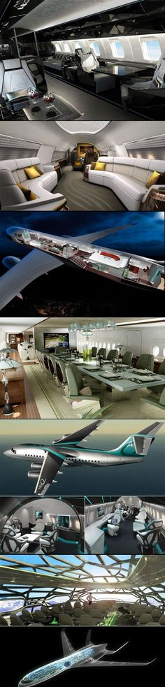 Luxury jet interior pictures | Despite the evolution of air travel, the private jets still only belong to the rich and/or the famous. | http://www.therichest.com #luxury #luxurylifestyle #luxuriousliving #privatejet #jet