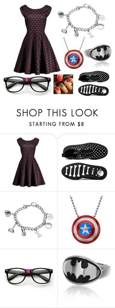 """Geek stuff"" by viktoria-kovacs-ferencz on Polyvore featuring Marvel"
