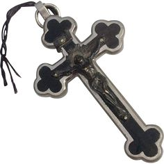 Early Nuns Or Priest Catholic Crucifix