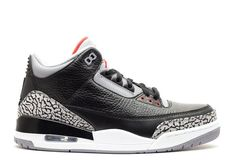 Air Jordan 3 Retro Black Cement 2011