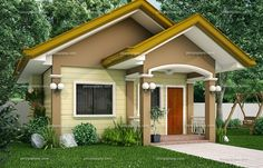 Beautiful small house designs you can use as you plan to build your own house. This article is filed under: Small Cottage Designs, Small Home Design, Small House Design Plans, Small House Design Inside, Small House Architecture Two Bedroom House Design, Wooden House Design, Simple House Design, Bedroom House Plans, Tiny House Design, Duplex Design, Bungalow Haus Design, Modern Bungalow House, Bungalow House Plans